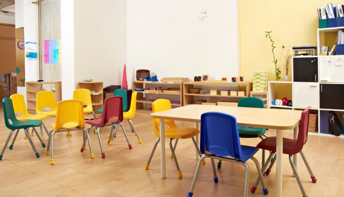 School classroom - Professional Child Care - Active OOSH